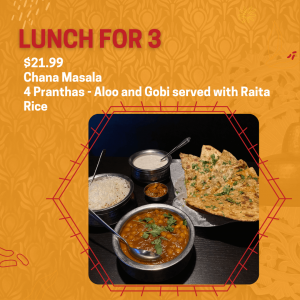 indian restaurant lunch special in thunder bay