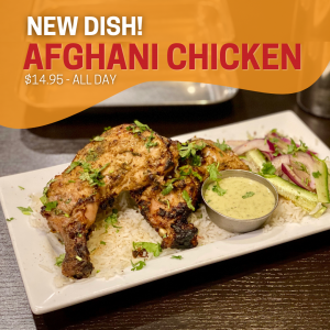 Afghani Chicken - indian food thunder bay